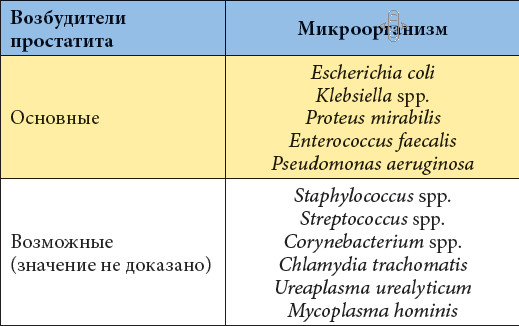 Простатит от уреаплазмы внутренние органы простатит