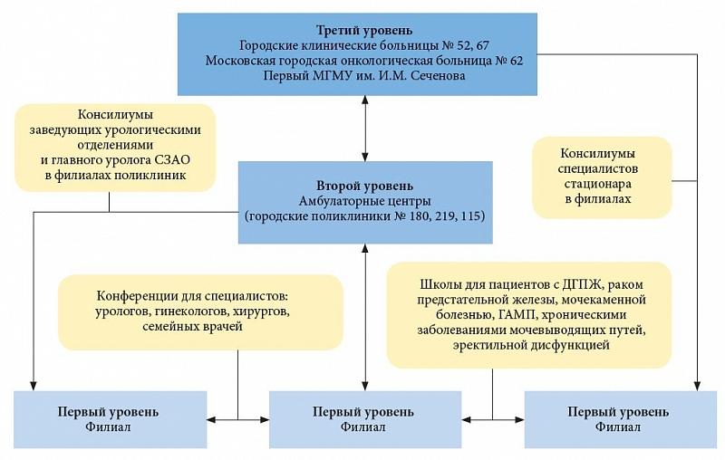 Развитие амбулаторной урологии: опыт службы округа Москвы ...