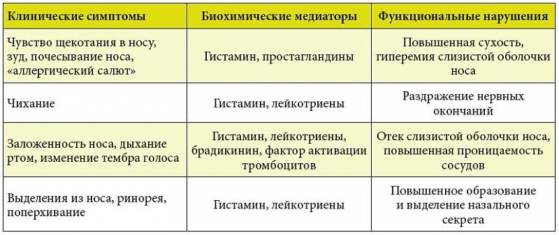 Схема лечения ринитов